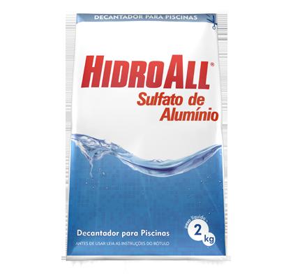 Redutor de pH para Piscina Hidroall PH- - Sulfato de Alumínio