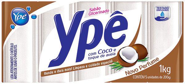 Sabão em Barra Ypê Coco