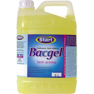 Sabonete Líquido Antisséptico Start Bacgel