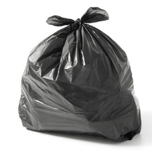 Saco de Lixo Preto - Espessura Média