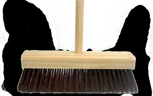 Vassoura Tipo Gari 40cm Piaçava