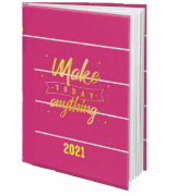 AGENDA 2021 PINK PEQ.A6