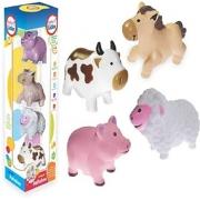 Brinquedo Infatil Coleção Fofinhos Baby Fazendinha Lider