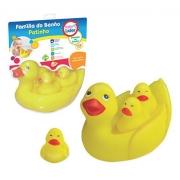 Brinquedos Para Banho Família De Patinhos - Líder 5707