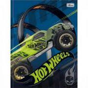 Caderno Brochura 48 Folhas -  Hot Wheels