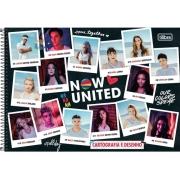 caderno desenho univ. cd Now United 80fls  TILIBRA