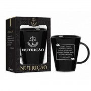 CANECA CERAMICA DE CURSO NUTRICAO