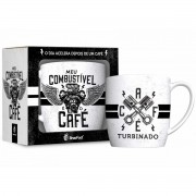 CANECA DE PORCELANA  URBAN - COMBUSTÍVEL CAFÉ