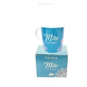 CANECA JOIA 400ML MAE AMOR INFINITO  Ean :7908011722238