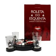 DRINKS JOGOS ROLETA C/4 SHOTS ESQUENTA O AMOR
