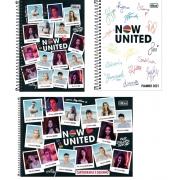 kit Now United caderno1 matéria, caderno de desenho, Planner