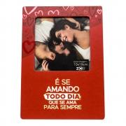 Porta Retrato Amando Todo Dia - MDA foto 10x10cm