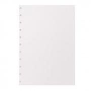 Refil caderno inteligente A5 liso 14X20cm 50fls 90g