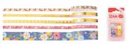 Washi Tape Love flores com 5 unids - Molin