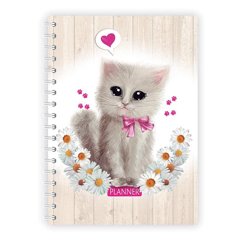 Planner diário Meu gato