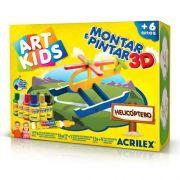ART KIDS HELICÓPTERO 3D - ACRILEX