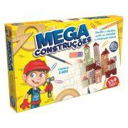 Brinquedo Pedagógico Blocos Madeira Mega Construções 150 Pçs - Pais e Filhos