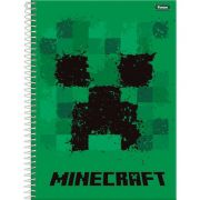 Caderno Espiral Minecraft - Foroni
