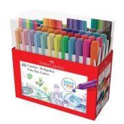 Caneta Fine Pen Estojo 48 cores -  Faber Castell