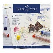 GIZ 24 Cores Soft Pastels - FABER-CASTELL