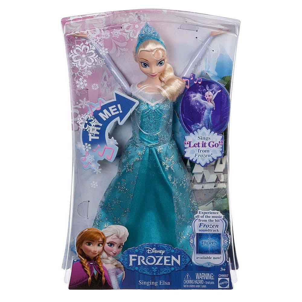 Boneca Elsa Musical Disney Frozen -  Mattel