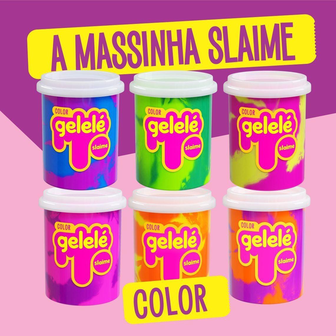 Gelelé Slime Massinha Meleca Duo color 152 g