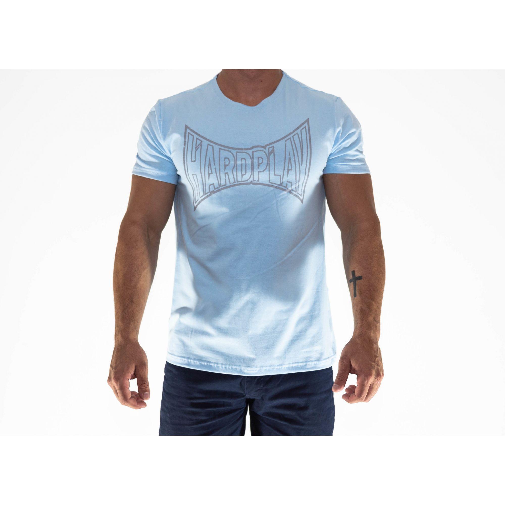 Camiseta HardPlay Azul Bebê