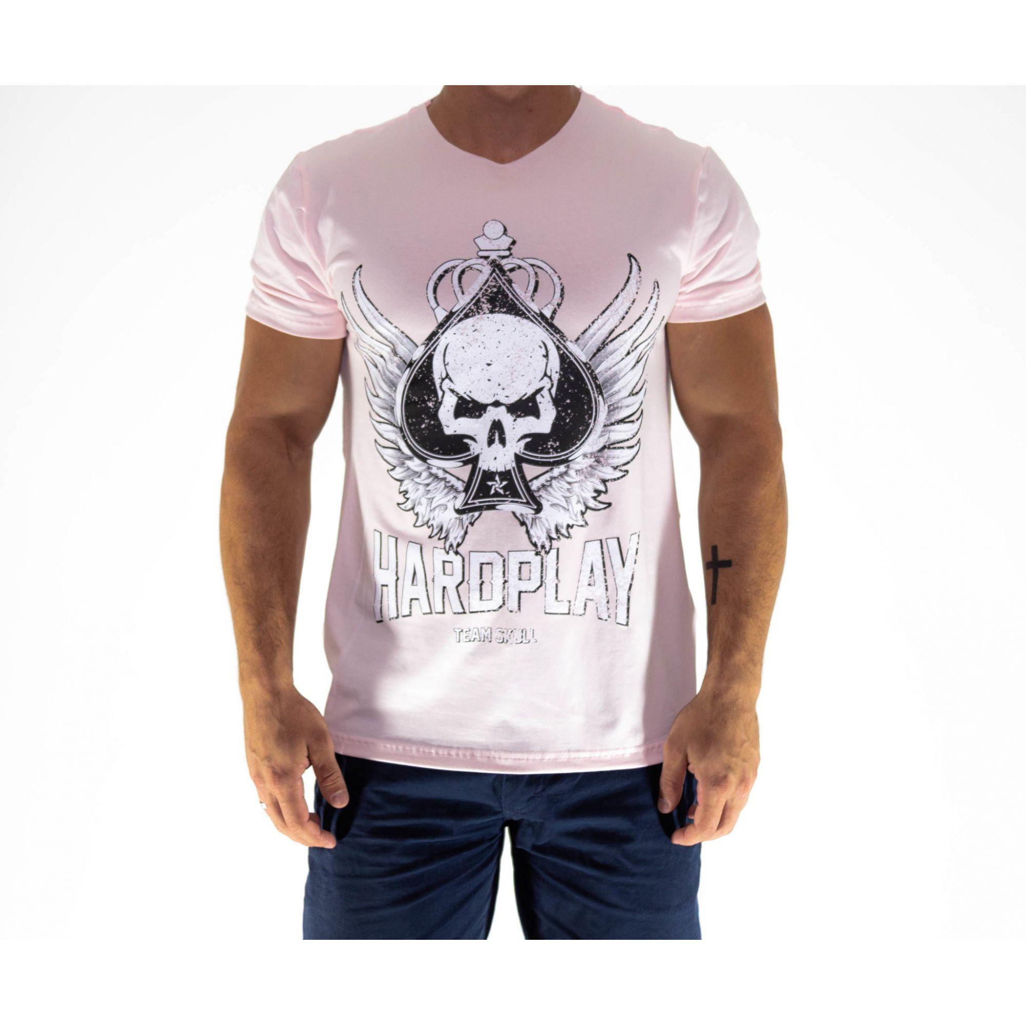 Camiseta HardPlay Rosa