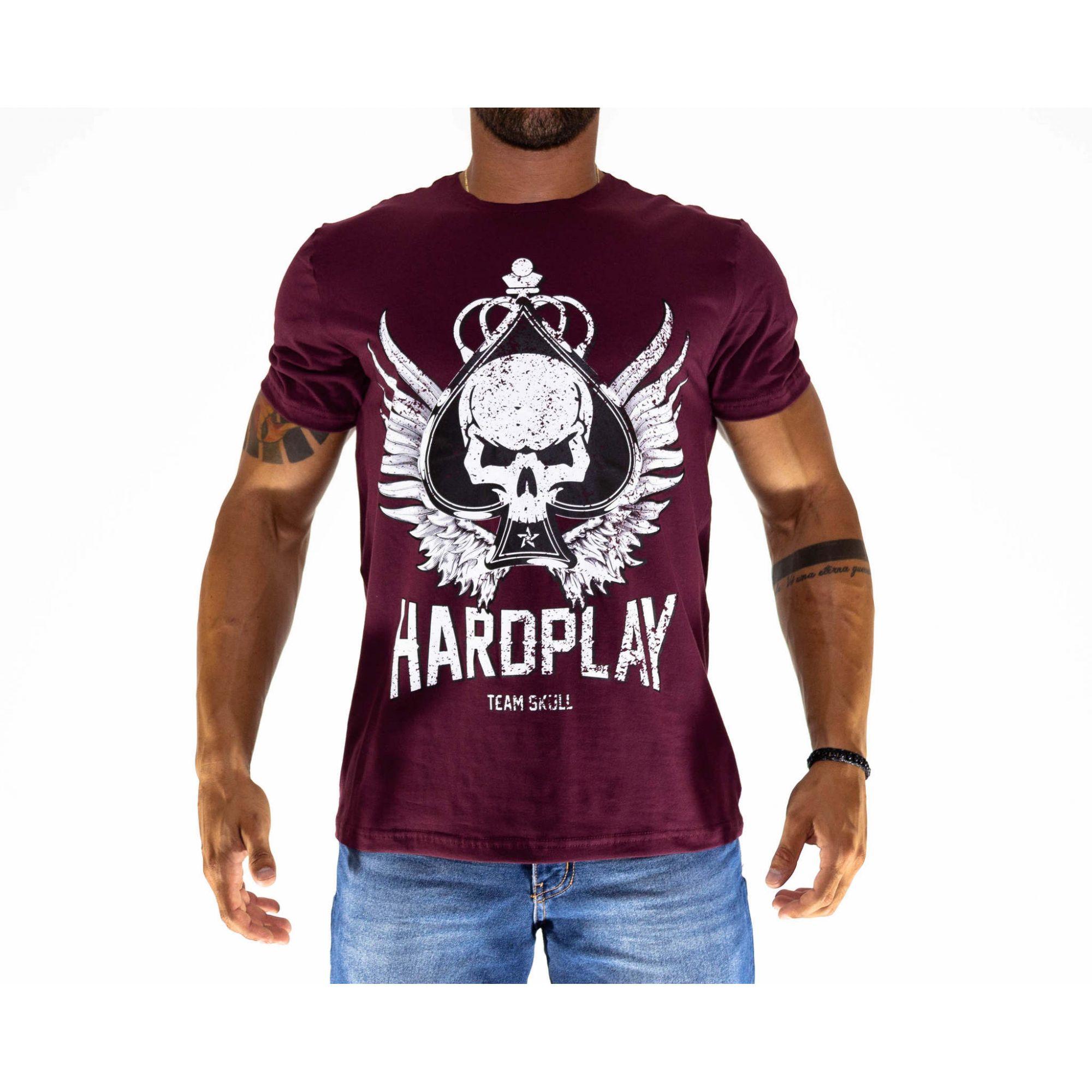 Camiseta HardPlay Vinho