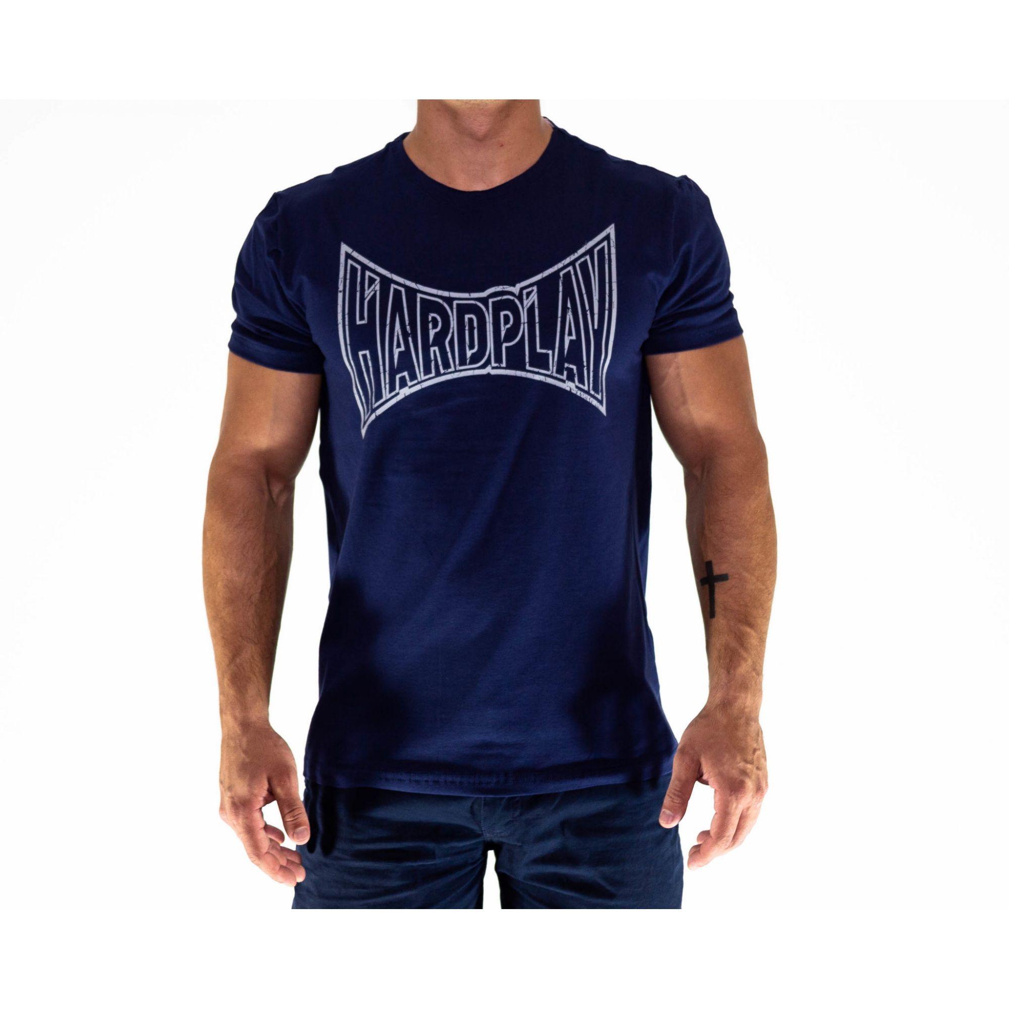 Camiseta HardPlay Azul Marinho