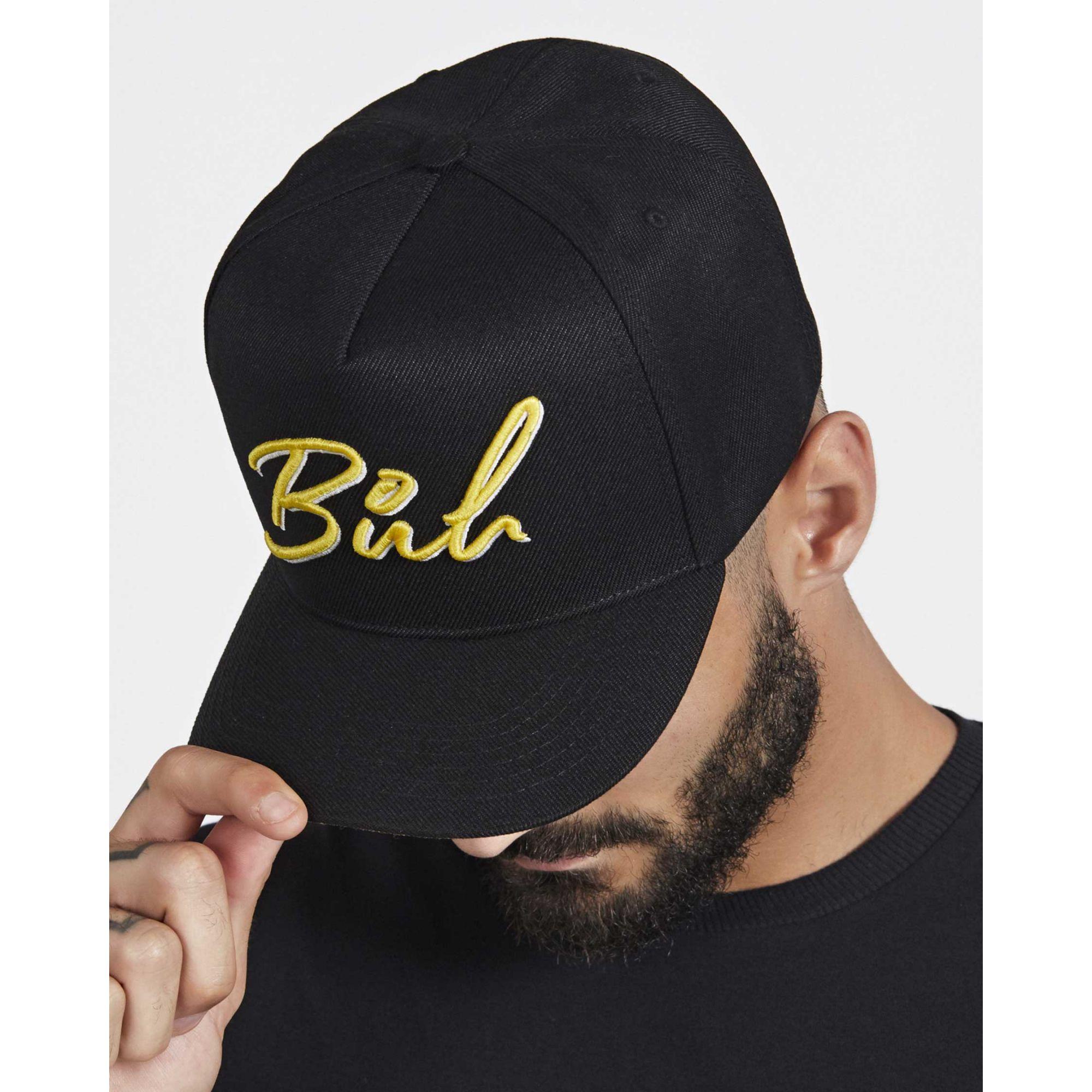 Boné Buh Bordado Black