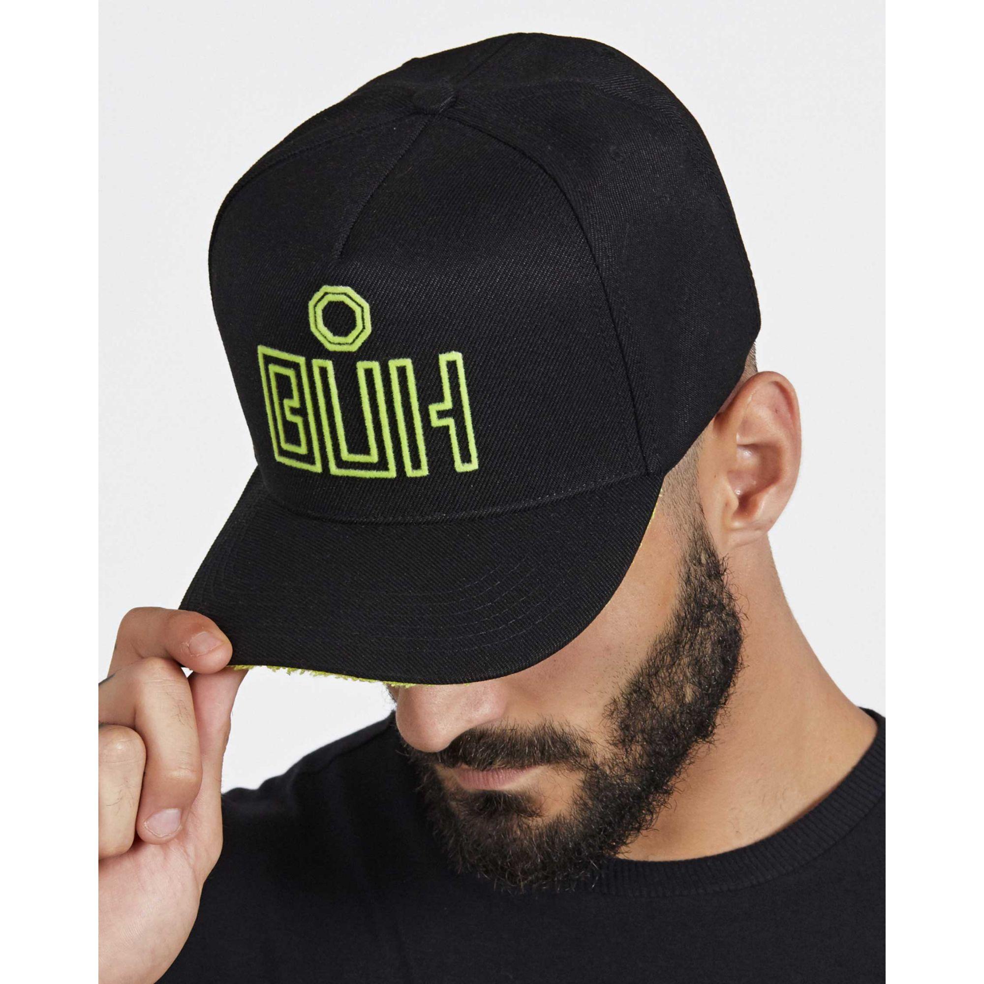 Boné Buh Recorte Black & Green