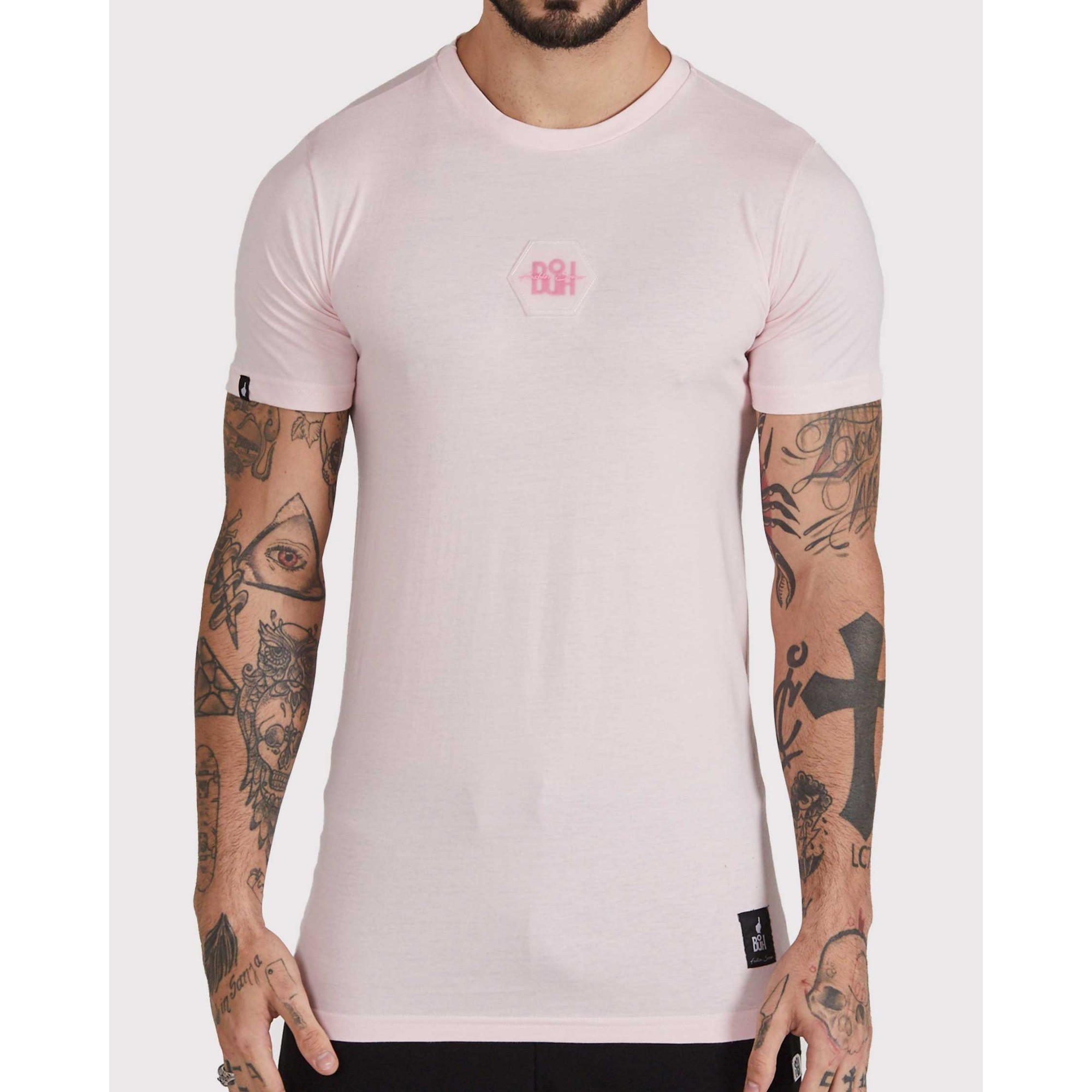 Camiseta Buh Bordado Rubber Rose