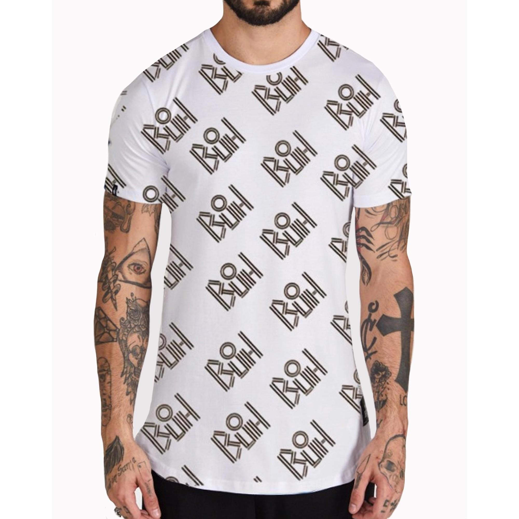 Camiseta Buh Full BuhManiaco White
