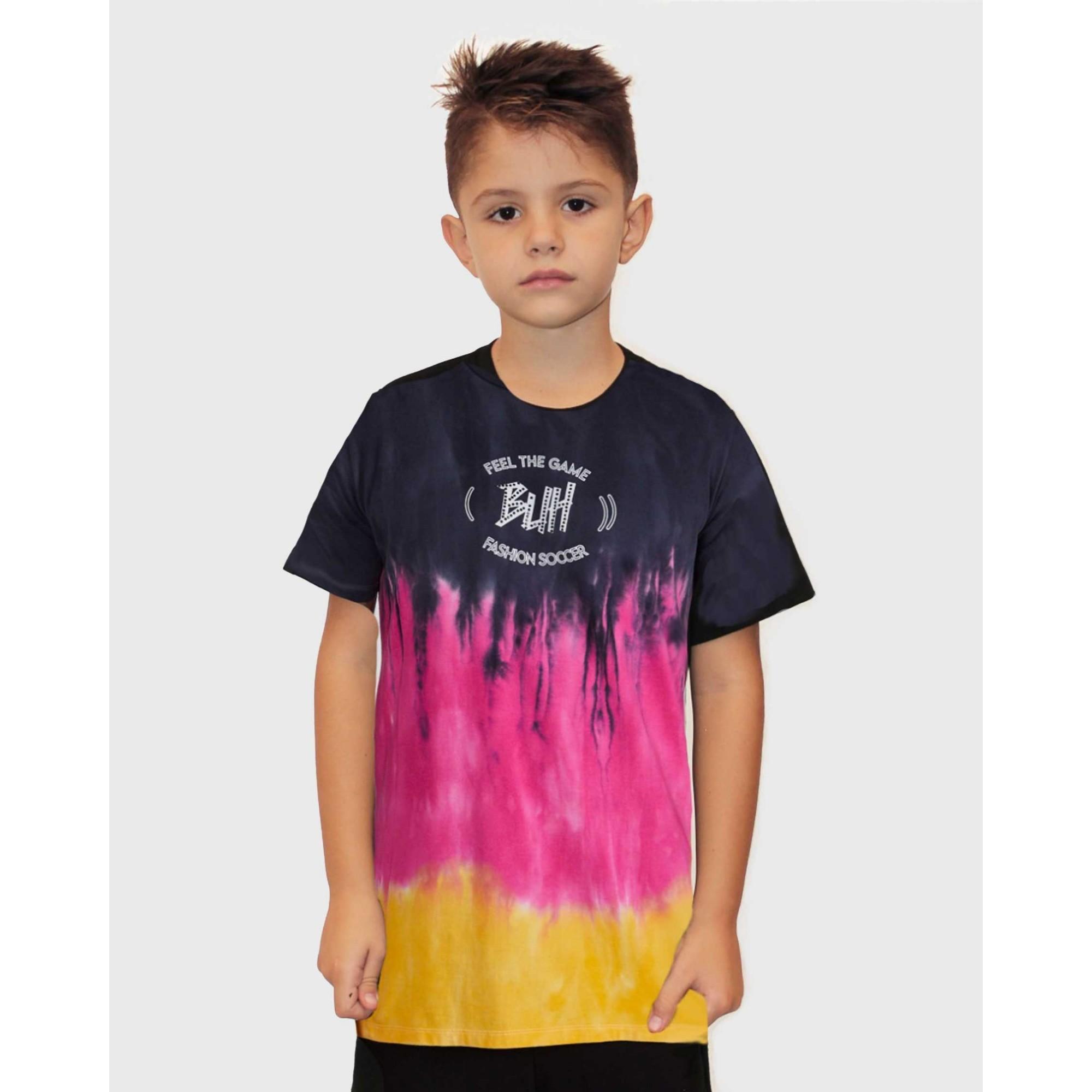 Camiseta Buh Kids Degadrê Fire
