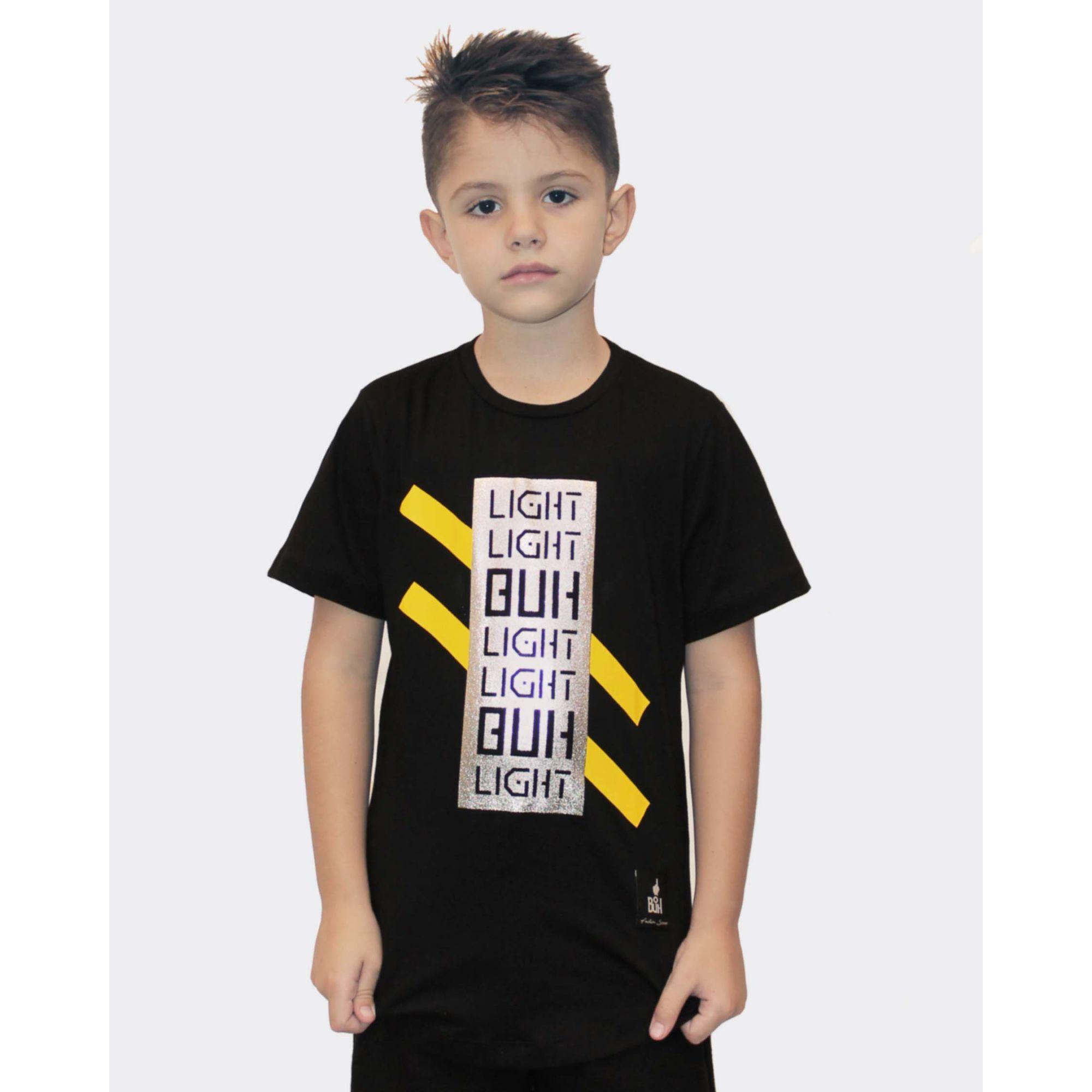 Camiseta Buh Kids Light Black