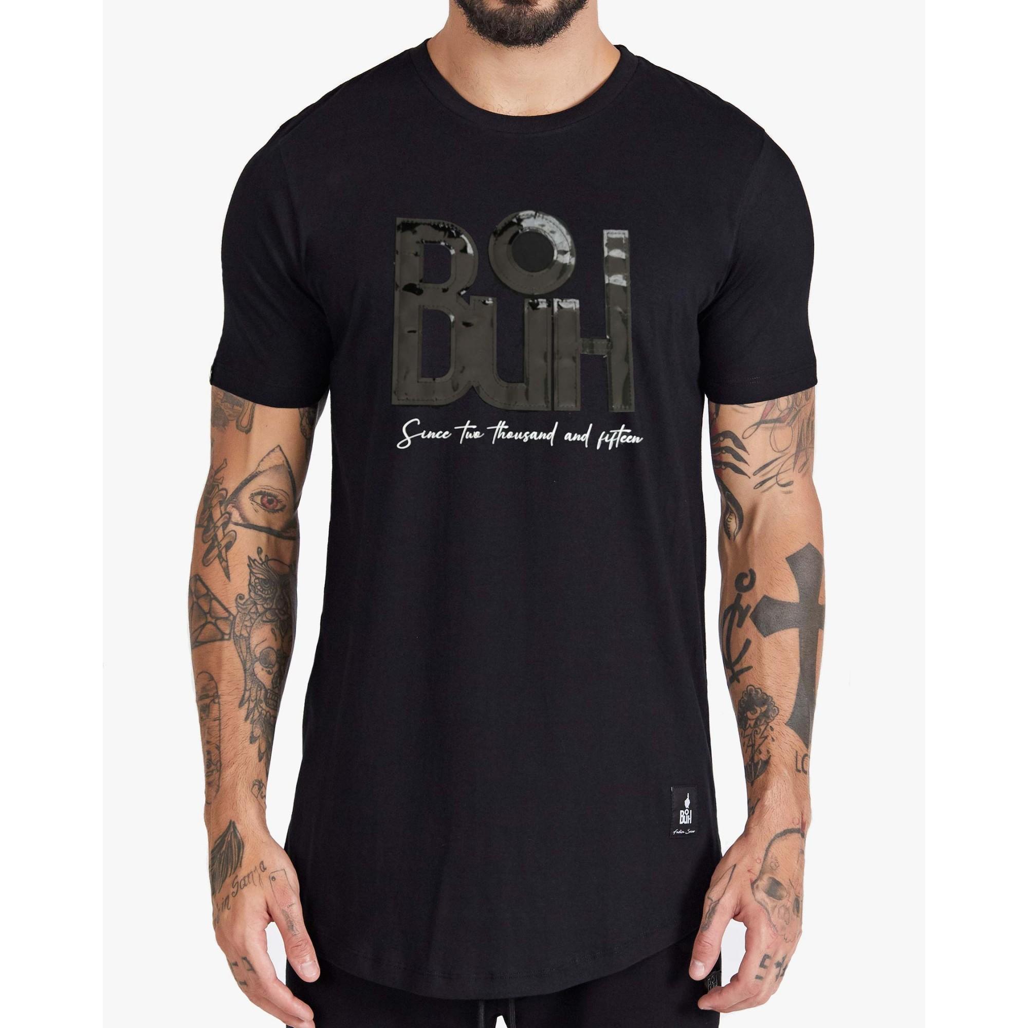 Camiseta Buh Vinil Penta Black