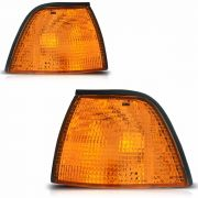 Lanterna Dianteira Bmw 325 328 330 320 Ambar 91/97 Amarelo