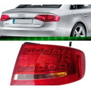 Lanterna Traseira Com Led Audi A4 2009 A 2012 Canto