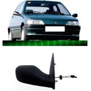Retrovisor Peugeot 106 1992 93 94 95 96 97 Preto Manual