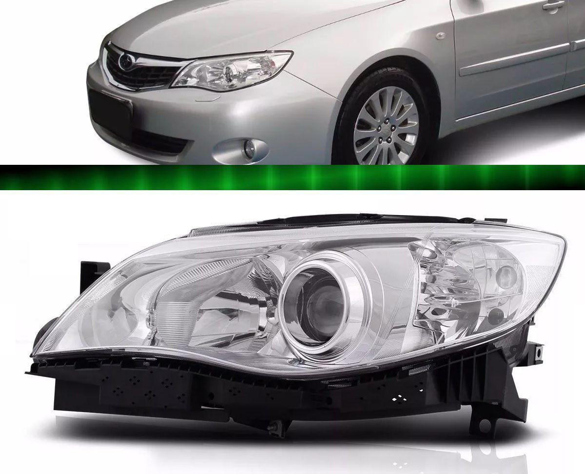 Farol Subaru Impreza 2008 2009 2010 2011 2012 Foco Duplo