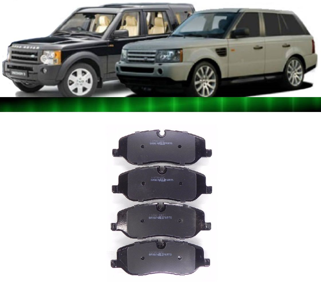 Jogo Pastilha Freio Dianteira Discovery 3 Range Rover Sport
