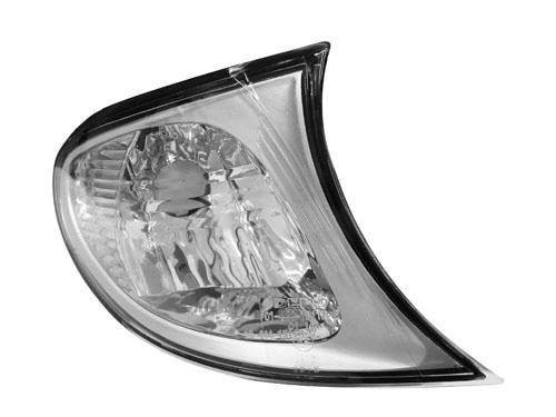 Lanterna Dianteira Cristal Borda Cromada Bmw S3 02 03 04 05