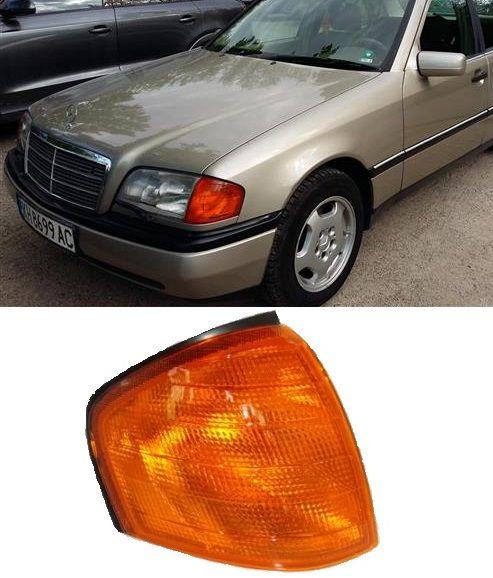 Lanterna Dianteira Mercedes C280 C180 C230 C220 1994 A 2000