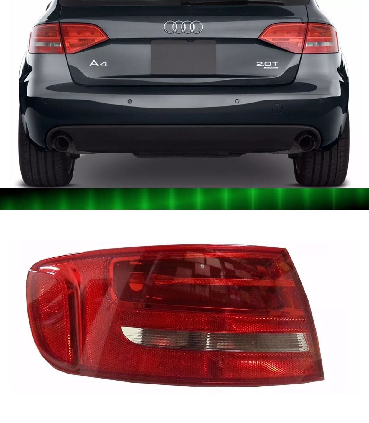 Lanterna Traseira Audi A4 Wagon 2004 2005 2006 2007