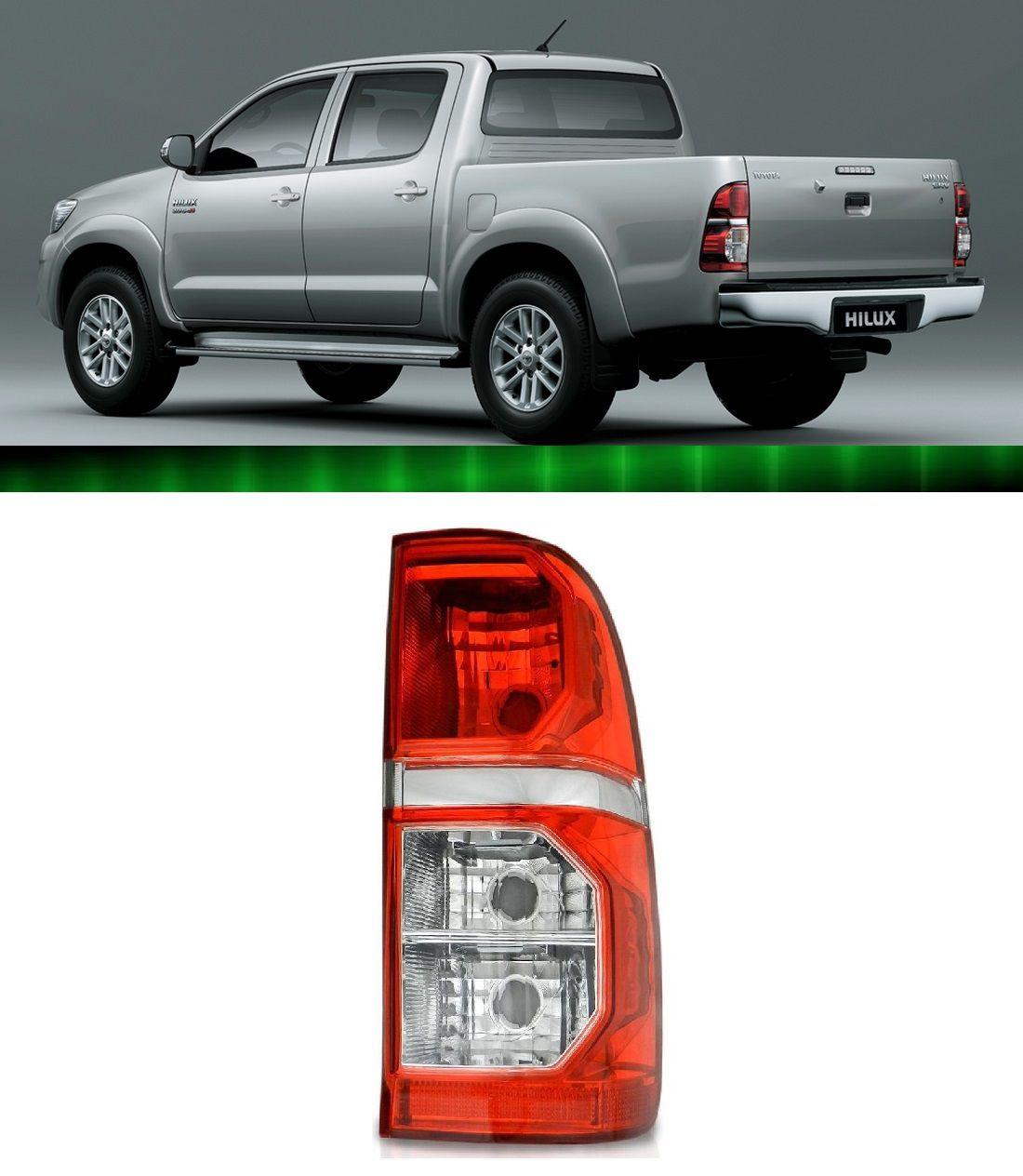 Lanterna Traseira Hilux Pick Up Sr / Srv 2012 2013 2014 2015