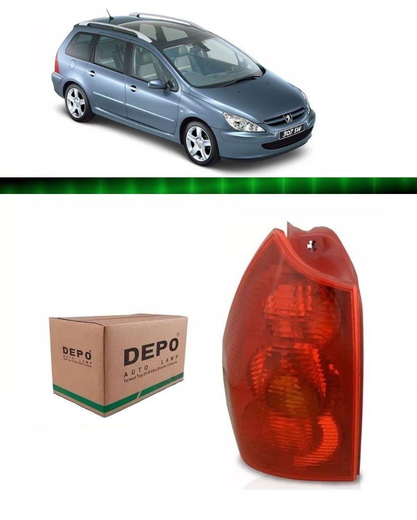 Lanterna Traseira Peugeot 307 Wagon 02 03 04 05 06