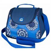 Bolsa Lancheira Térmica Igloo Cross Mandala Azul