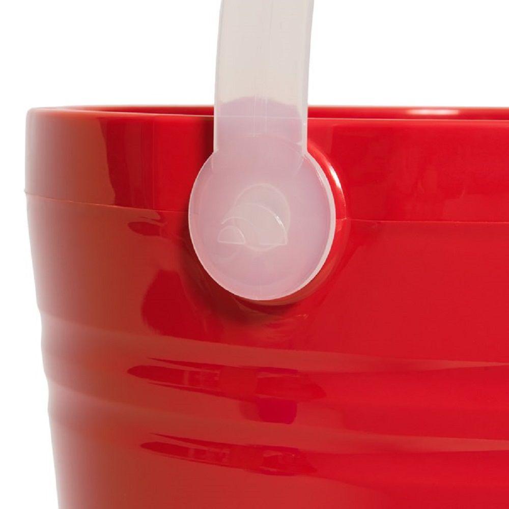 Balde de gelo Igloo Pail Vermelho