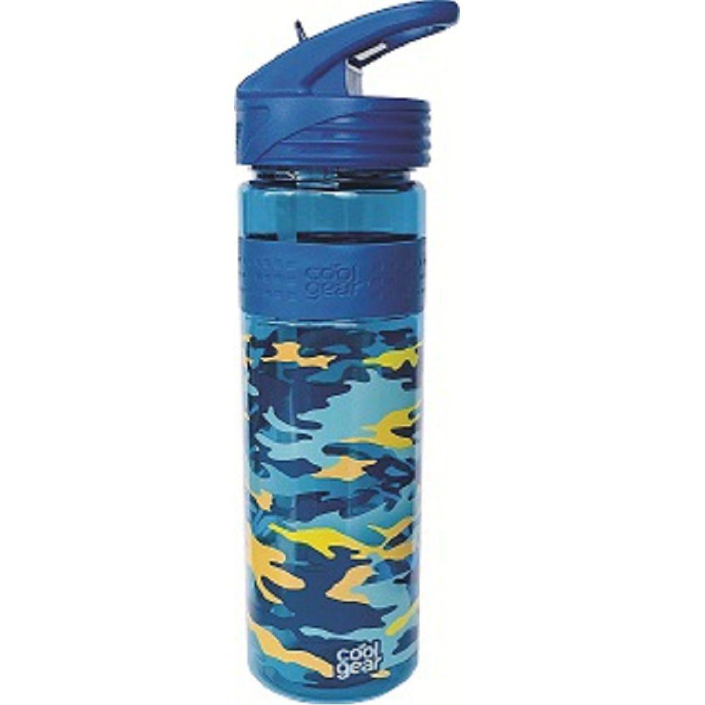 Garrafa Cool Gear Camuflada Azul